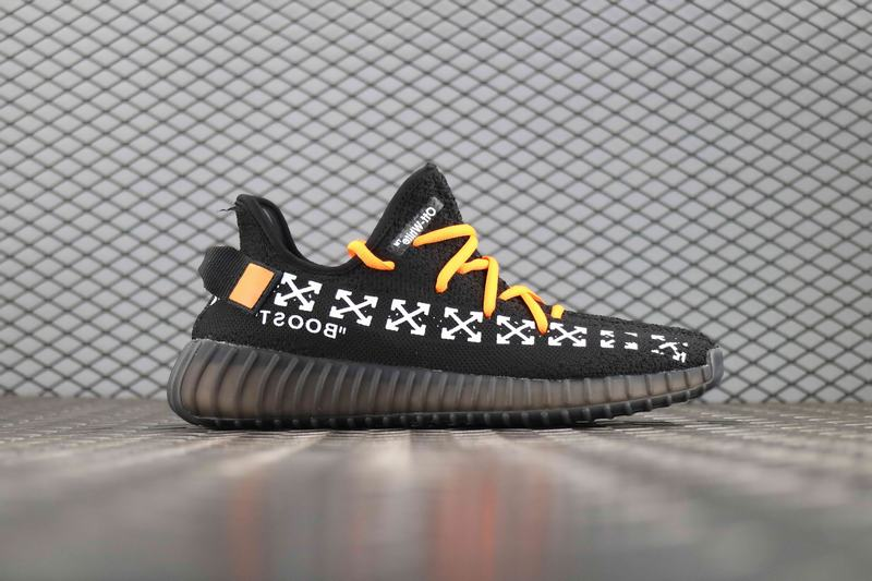 Yeezy Boost 350 V2 x OFF White Arrow Black White
