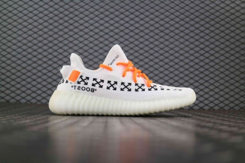 Yeezy Boost 350 V2 x OFF White Arrow White Black