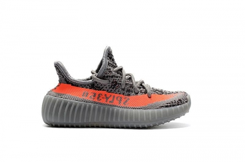 Yeezy Boost 350 V2 Kids Orange Grey